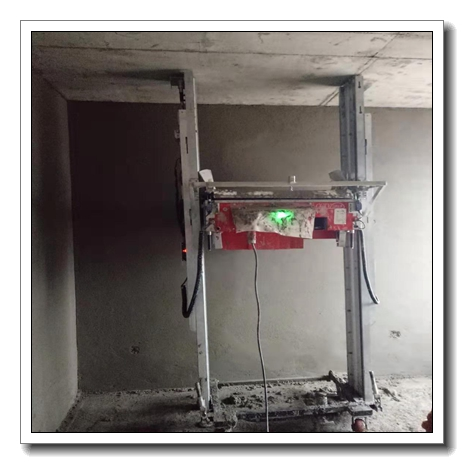 Automatic Robot Plaster Mortar plastering rendering Machine for tupo 9