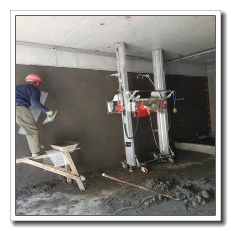 TUPO 2020 most advanced automatic wall cement plastering machine roof spray paint machine